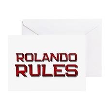 rolando rules Greeting Card