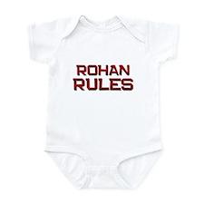 rohan rules Infant Bodysuit