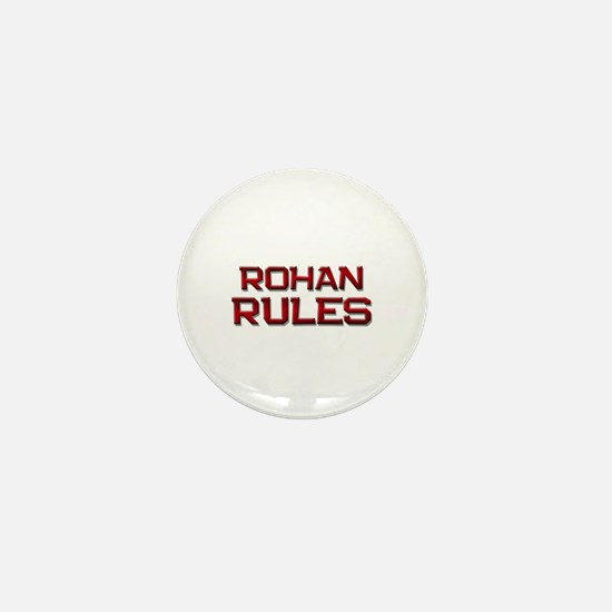 rohan rules Mini Button