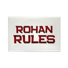 rohan rules Rectangle Magnet