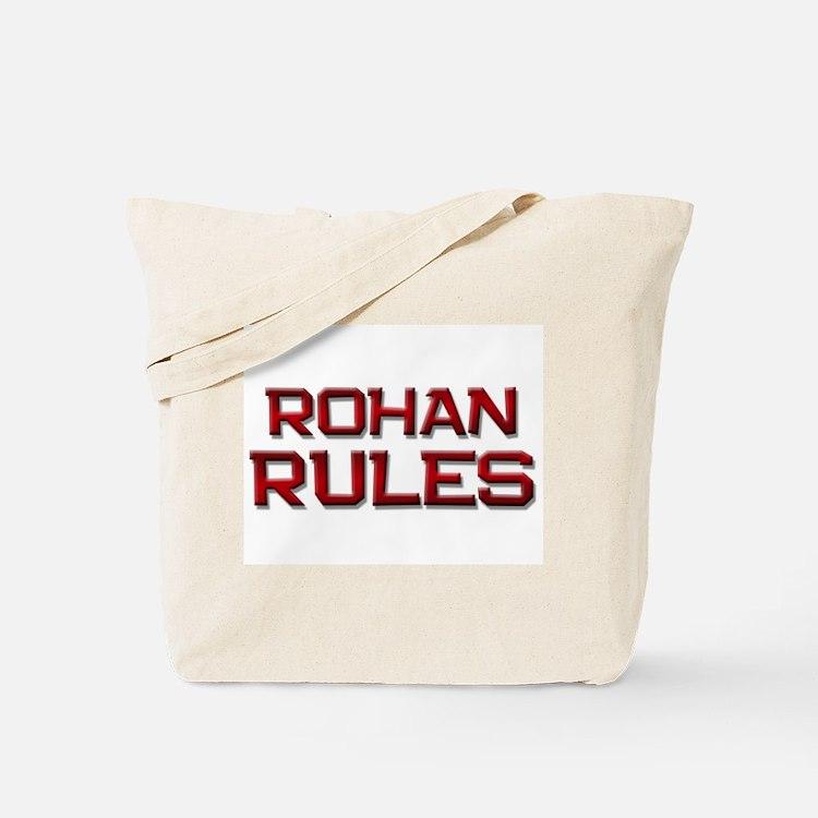 rohan rules Tote Bag