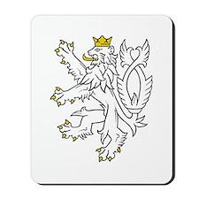 Bohemian Lion Mousepad