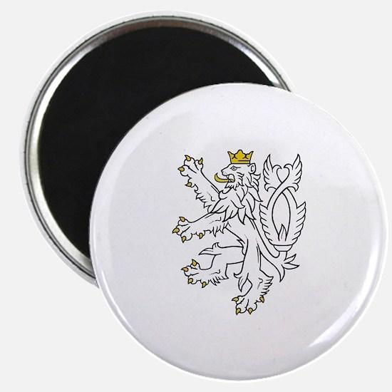 Bohemian Lion Magnet