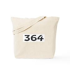 364 Area Code Tote Bag
