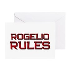 rogelio rules Greeting Cards (Pk of 10)
