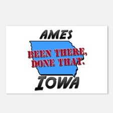 ames iowa - been there, done that Postcards (Packa