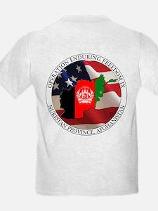 T-Shirt, flag back