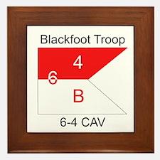 Cool Blackfoot Framed Tile
