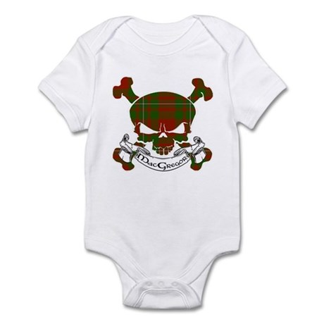 MacGregor Tartan Skull Infant Bodysuit