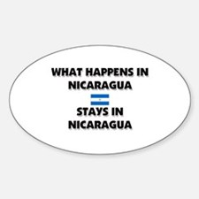 What Happens In NICARAGUA Stays There Decal
