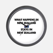 What Happens In NEW ZEALAND Stays There Wall Clock