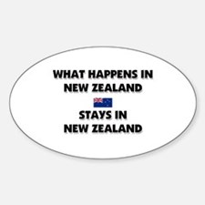 What Happens In NEW ZEALAND Stays There Decal