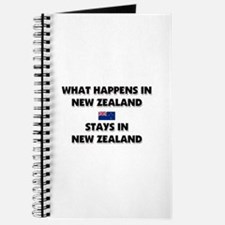 What Happens In NEW ZEALAND Stays There Journal
