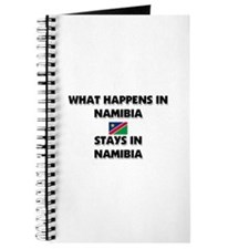 What Happens In NAMIBIA Stays There Journal