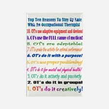 Late Night Occupational Therapy Magnet (10 pack)