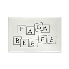 FAGABEEFE Rectangle Magnet