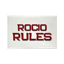 rocio rules Rectangle Magnet