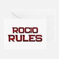 rocio rules Greeting Card