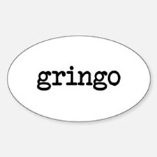 gringo Oval Decal