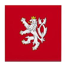 Bohemian Lion Tile Coaster