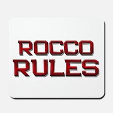 rocco rules Mousepad