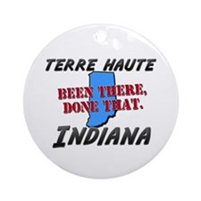 terre haute indiana - been there, done that Orname