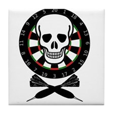 Dart Jolly Roger Tile Coaster