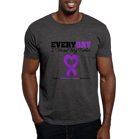 Alzheimer's MissMyFather Dark T-Shirt