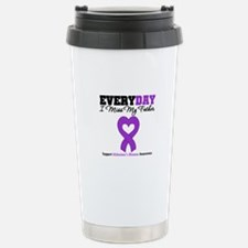 Alzheimer's MissMyFather Travel Mug