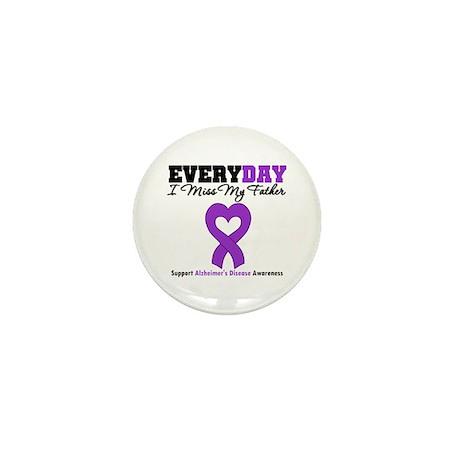 Alzheimer's MissMyFather Mini Button (100 pack)