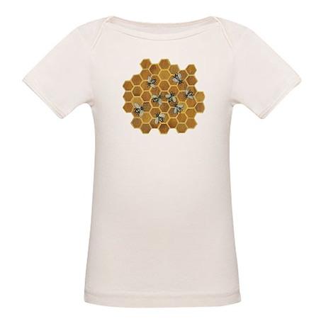 Honey Bees Organic Baby T-Shirt