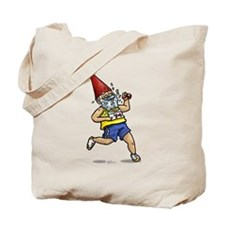 Running Gnome Tote Bag