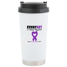 Alzheimer's MissMyDad Travel Coffee Mug
