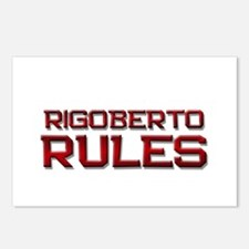 rigoberto rules Postcards (Package of 8)