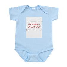 Daddy Real Catch Infant Bodysuit