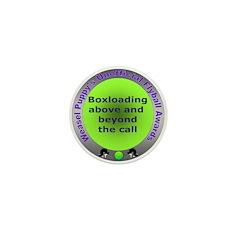 Boxloading Flyball Award Mini Button