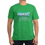SHMEAT! Men's Fitted T-Shirt (dark)