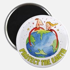 Protect the Earth Magnet