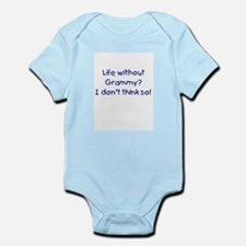 Without Grammy Blue Infant Bodysuit