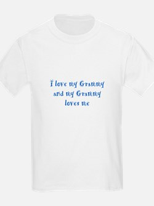 Grammy Loves Me Blue T-Shirt