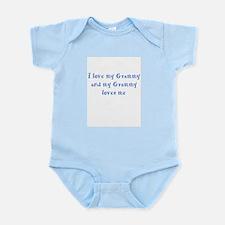 Grammy Loves Me Blue Infant Bodysuit