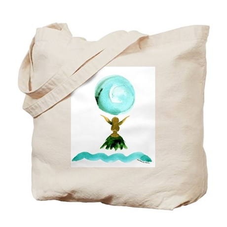 "Pretty ""Moon Goddess"" Tote Bag for bath!"