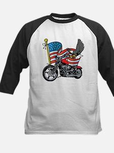 Eagle Biker 2 Kids Baseball Jersey