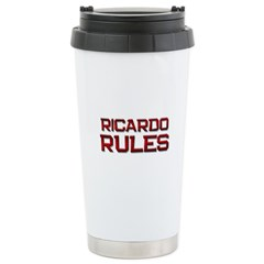 ricardo rules Travel Mug