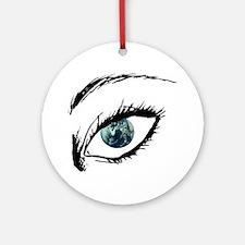 Earth Eye Ornament (Round)