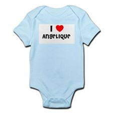 I LOVE ANGELIQUE Infant Creeper