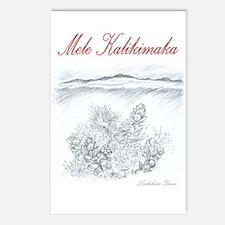 Beauty of Mauna Kea and Lehua Christmas Postcards
