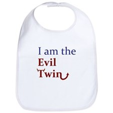 I am the Evil Twin Bib