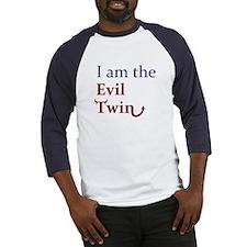 I am the Evil Twin Baseball Jersey