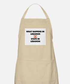What Happens In LEBANON Stays There BBQ Apron